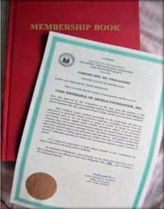 CEA Certificate of Incorporation
