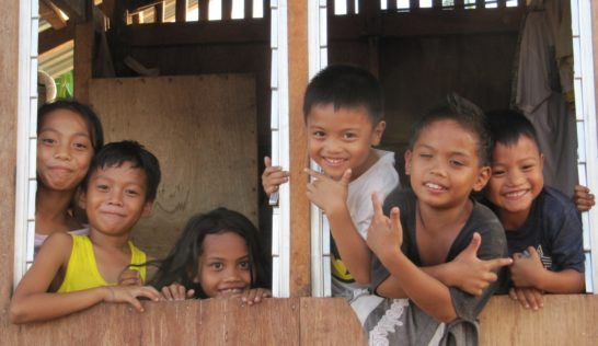 Children in Tacloban City