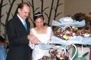 Ron Brown and Gigi Brown wedding photo (2)
