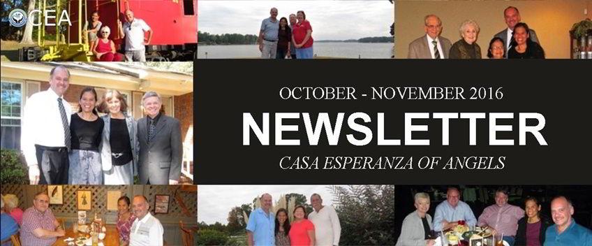 CEA Newsletter October-November 2016