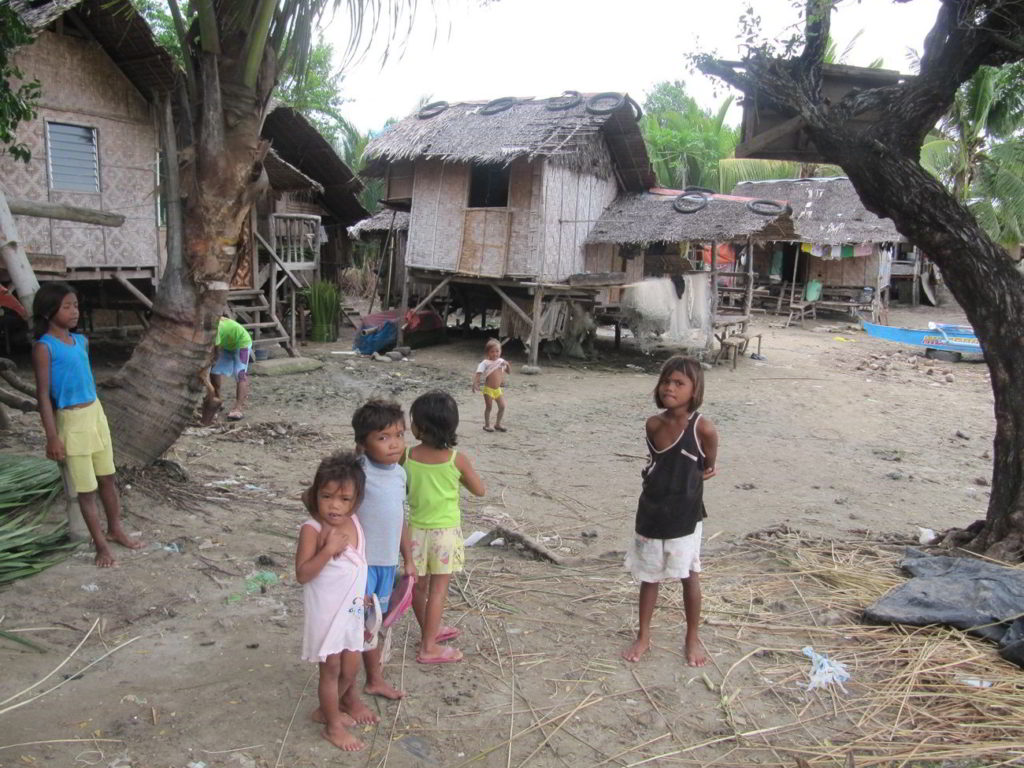 Children of Sitio Baybay, Barangay San Isidro, Tanjay City, Philippines