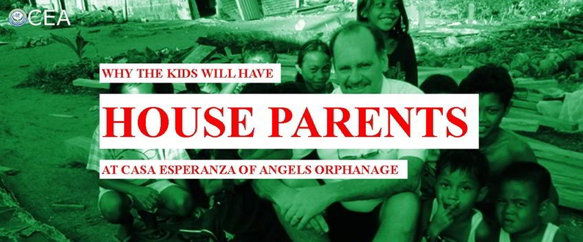 House parents at Casa Esperanza of Angels