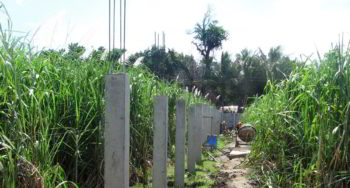 CEA orphanage perimeter fence construction project