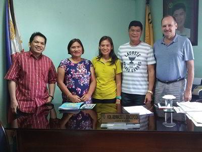 Courtesy call on the Tanjay City Mayor Rey Concepcion