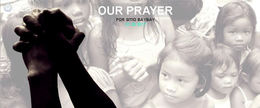Sitio Baybay Prayer
