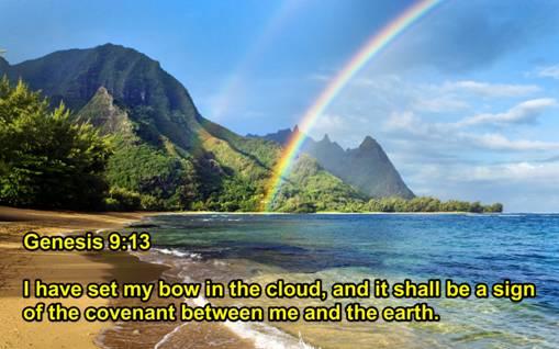 Genesis 9-13 rainbow