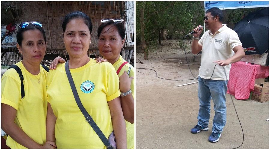 Barangay San Isidro officials