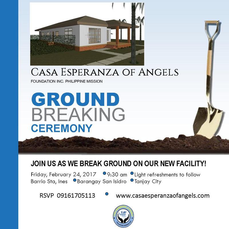 CEA Groundbreaking invite poster