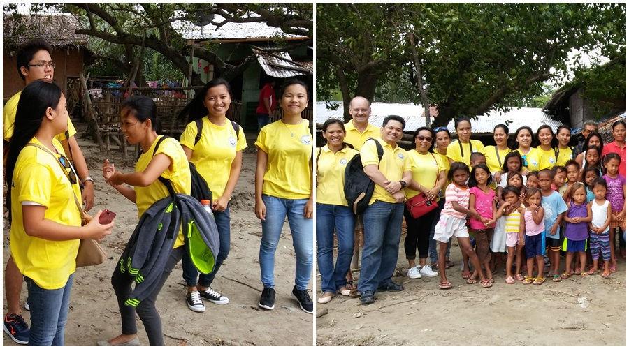 CEA Volunteers in Sitio Baybay