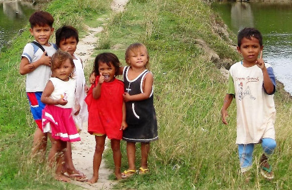 Children of Sitio Baybay