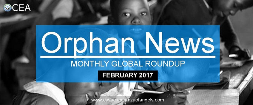 February 2017 orphans news roundup