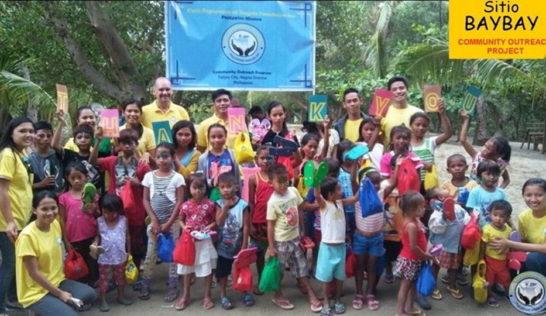 Sitio Baybay children