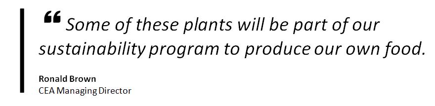 Sustainability program quote