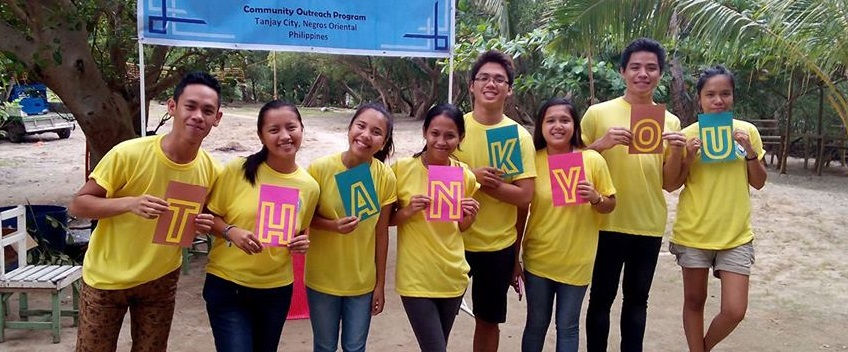 Young Sitio Baybay volunteers