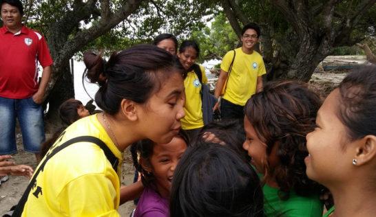 CEA volunteer Concepcion Salatan at Sitio Baybay
