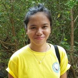 CEA volunteer Vergielyn Cubol photo