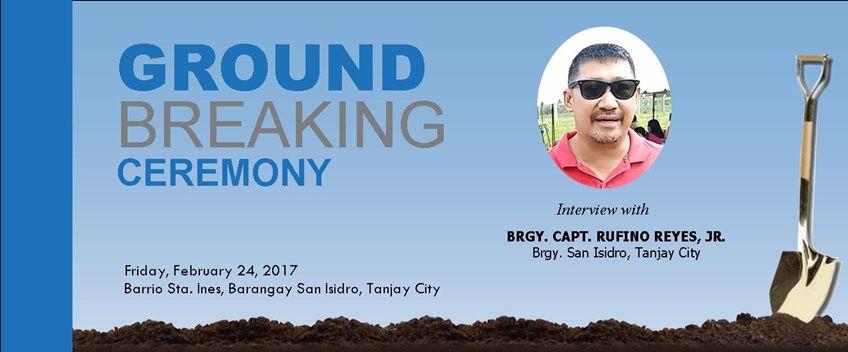 Barangay Captain Rufino Reyes, Jr. interview