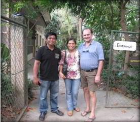 Board member Elmer Palacio visit to Negros