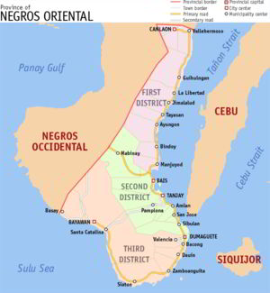 Negros Oriental province, Philippines