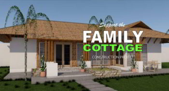 Family cottage construction project
