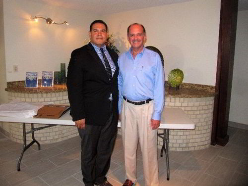 CEA Managing Director Ron Brown with a friend in the U.S. - June 2017
