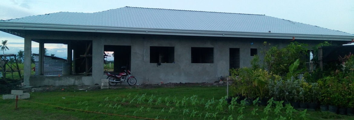 CEA first children's home with completed roofing