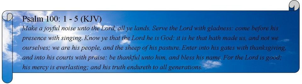 psalm biblical quote