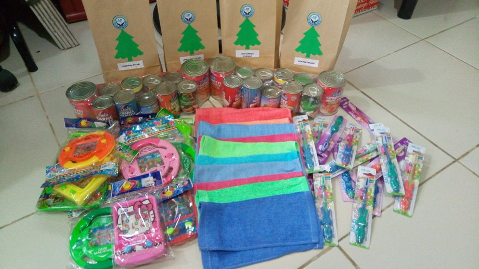 Gifts for the children outreach