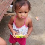 Little girl at Sitio Kasagingan Tanjay City