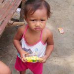 Little girl at Sitio Kasagingan Tanjay City