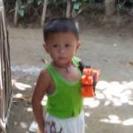 Small boy at Sitio Kasagingan Tanjay City